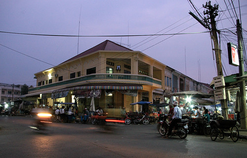 kampong cham dusk