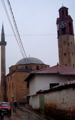 Xhamia e Madhë & Sahat Kulla, Prishtinë, Kosova