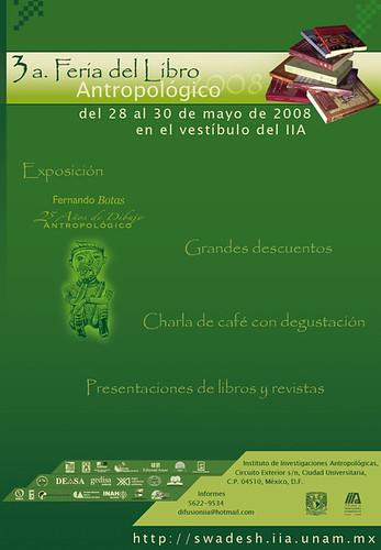 3a. Feria del Libro Antropológico