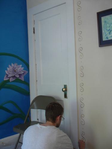 Curly Door Frame 1