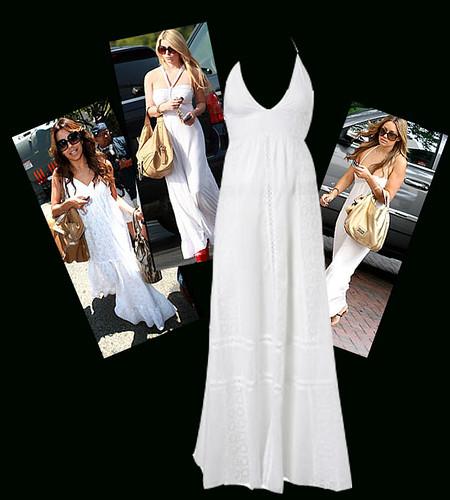 30somethingmom white maxi dress