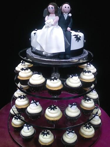 2974643546 bb7bb76be7 Baú de ideias: Decoração de casamento preto e branco