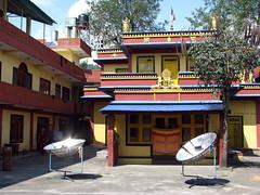 Un templo tibetano