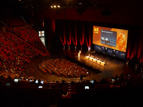 ICT 2008 Lyon Location shot