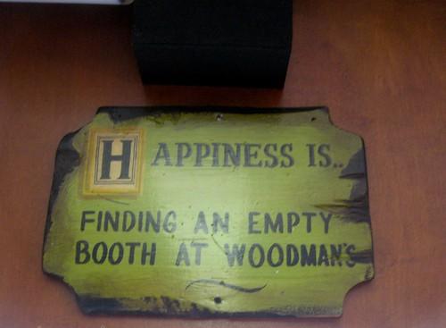 Happiness at Woodman's