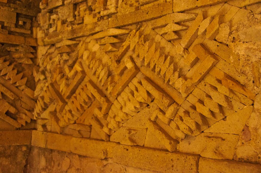 A frieze, Mitla