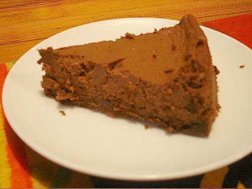 ... con Vaniglia e Nocciola (Perugian-style chocolate hazelnut cheesecake