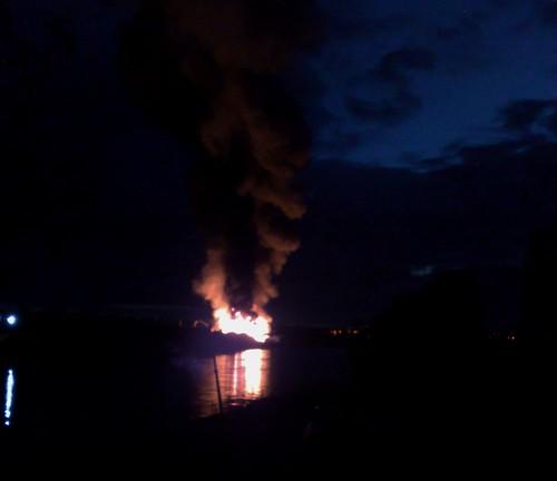 Fire in renfrew
