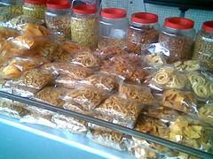 Penang kacang putih stall
