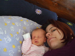 Mummy and Flora