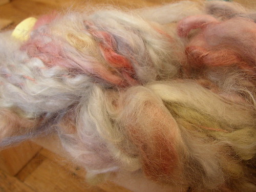 Bo Rage mohair on silk