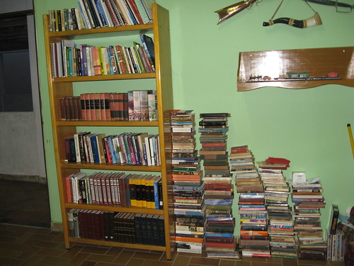 Book Shelf Overflow