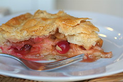 Apple-Cranberry Pie side