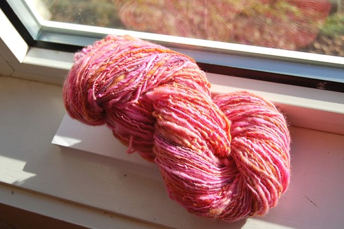 Pink one-ply