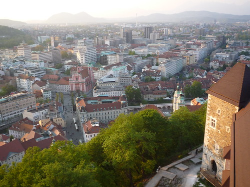 Ljubljana desde el Castillo