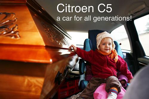Citroen C5 car