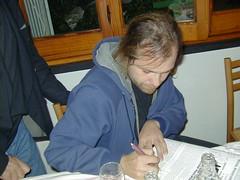 Davide Toffolo in una foto di Gianfranco Goria di diversi anni fa