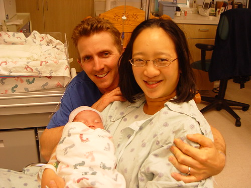 Steve, Corrie, and Steven