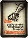 Lucian Bernhard. Cartel de guerra German War Loan, 1917.