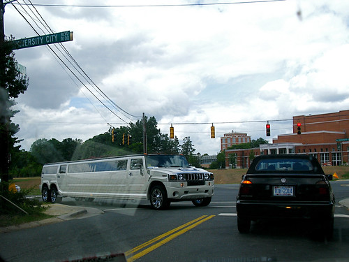 A Limo Hummer Too Big to Turn by you.