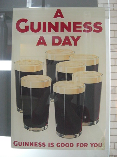 guinness is good for you!