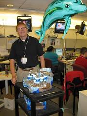 Earl Jones Canteening the Disaster Operations Center 9.10.08