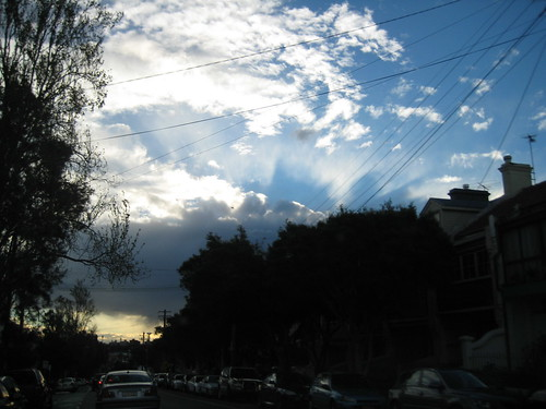 do you see the sydney opera house in the sky?