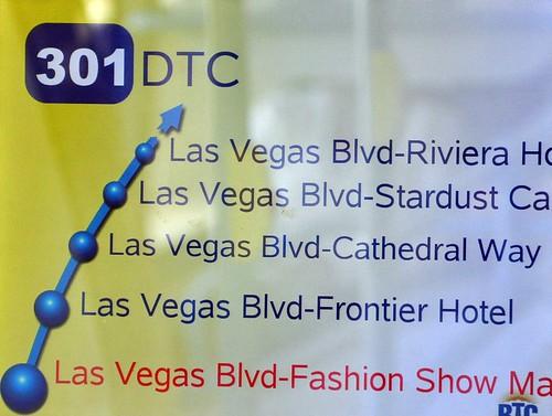 Busplan Las Vegas