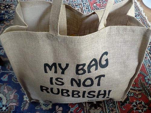 my bag is not rubbish
