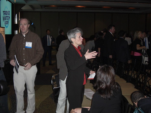 Patti Freeman Evans at LinkShare Symposium 2008