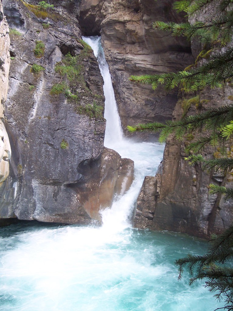 Johnston Canyon, Rocky Mountains, Alberta, Canada