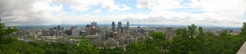 View of Montréal from Kondiaronk Belvédère