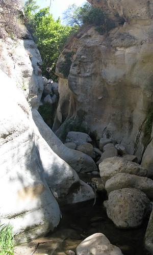 Santa Ynez Trail Narrows Photomerge