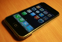 iPhone with OS v2