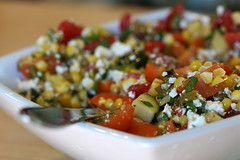 Grilled Corn and Cotija Salad 2