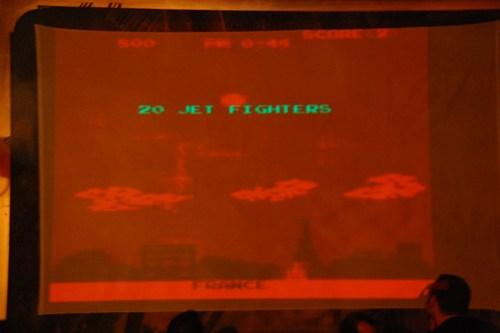 Detalle de Atari Cold War Show. Durante ARSGAMES 2008