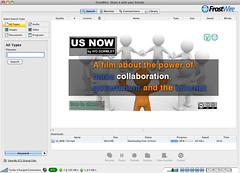 US NOW - A film about mass collaboration featured on FrostWire