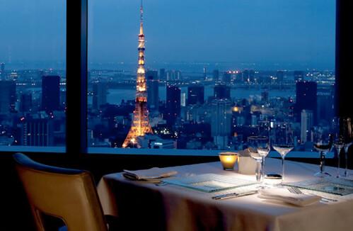 Azure 45 at Ritz Carlton Tokyo by bloompy