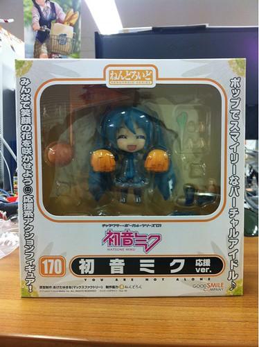 Nendoroid Hatsune Miku: Support version packaging