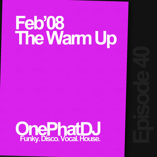 Feb'08 The Warm Up artwork