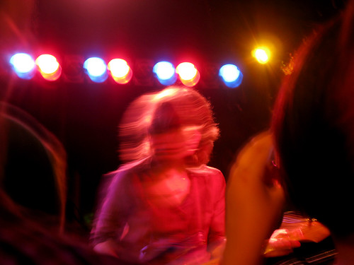 A photo from the Fiery Furnaces concert I attended