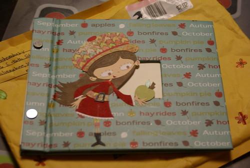 Decorated Scrapbook by Ellia