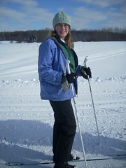 Emily on Skis