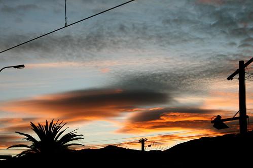 Thursday: Early morning sunrise
