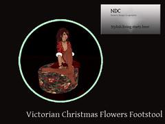 Victorian Christmas Flowers
