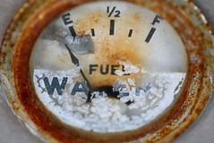 Empty fuel gage
