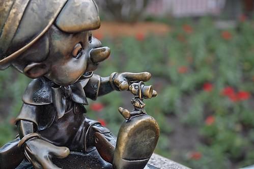 Pinocchio in Orlando,USA