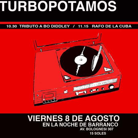 Afiche Turbopotamos