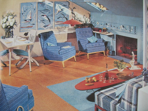 Interior Decoration 1950s