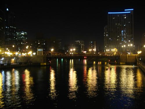 Riverside at Night #1
